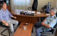 Συνάντηση του Βουλευτή Ν.Δ. Γ. Κωτσού με το νέο Δ/ντή Αστυνομίας Ν. Καρδίτσας Θ. Καρανάσιο