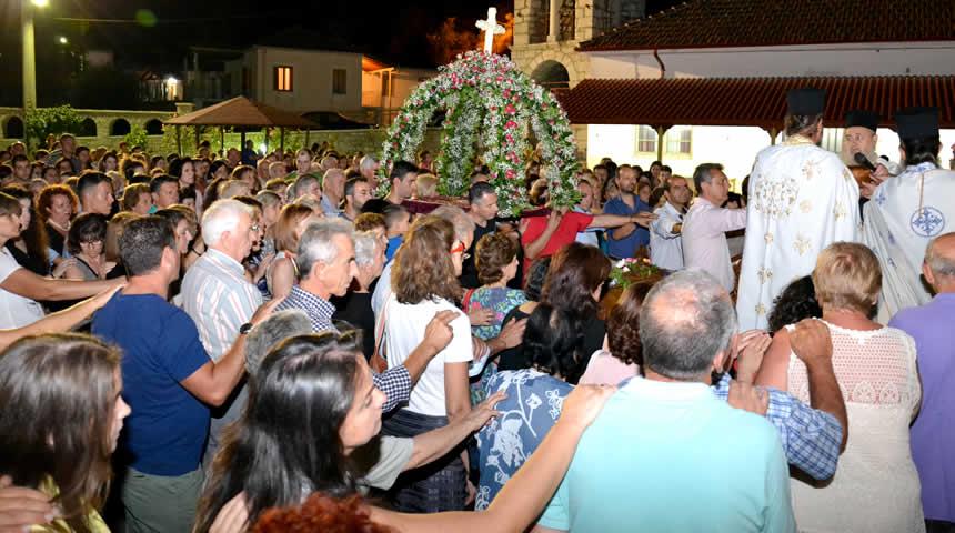 Πανηγυρίζει ο Ιερός Ναός Κοιμήσεως Θεοτόκου Μουζακίου