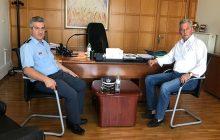 Συνάντηση Δημάρχου Σοφάδων κ. Θάνου Σκάρλου με το νέο Αστυνομικό Διευθυντή Καρδίτσας κ. Θωμά Καρανάσιο
