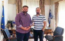Συνάντηση του Δημάρχου Μουζακίου κ. Στάθη με το νεοκλεγέντα Δήμαρχο Αργιθέας κ. Στεργίου