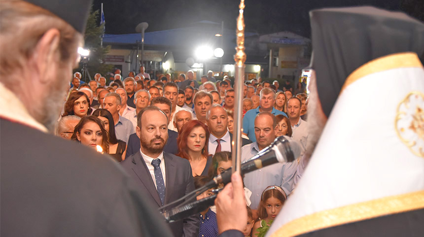 Παρουσία πλήθους κόσμου τελέστηκε η τελετή ορκωμοσίας του νέου Δημάρχου Φάνη Στάθη