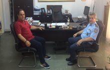 Επίσκεψη του νέο Αστυνομικού Διευθυντή στον Αντιπεριφερειάρχη κ. Β. Τσιάκο