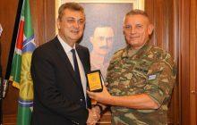Γ. Κωτσός:Συναντήσεις με τις ηγεσίες Ενόπλων Δυνάμεων & ΕΛ.ΑΣ. Κεντρικής Ελλάδας