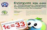 «Ολοκληρωμένο Πρόγραμμα Ανταποδοτικής Ανακύκλωσης» της Ελληνικής Αστυνομίας