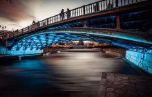 Πρωτιά για την φωτογραφία της κεντρικής γέφυρας των Τρικάλων