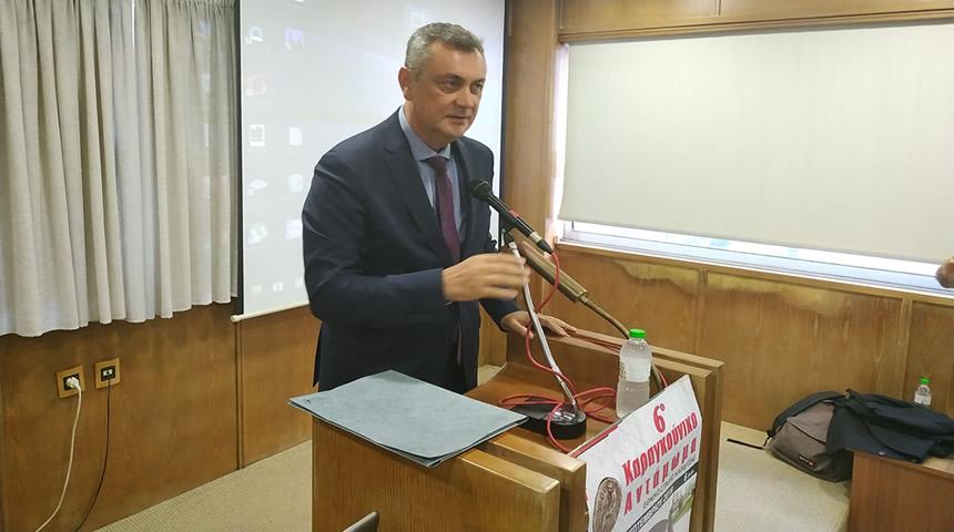 Στο 6ο Διεθνές Εθνολογικό Συνέδριο ο Βουλευτής Γ.Κωτσός