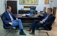 Συνάντηση του Βουλευτή της Ν.Δ. Γιώργου Κωτσού με το νέο Αντιπεριφερειάρχη στην Π.Ε Καρδίτσας