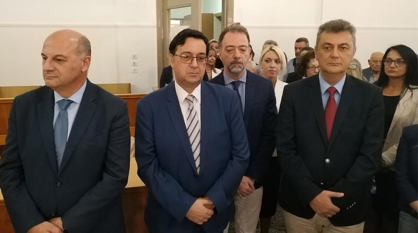 Στον αγιασμό για το νέο δικαστικό έτος παρέστη ο βουλευτής Ν.Δ. ν.Καρδίτσας Γ. Κωτσός
