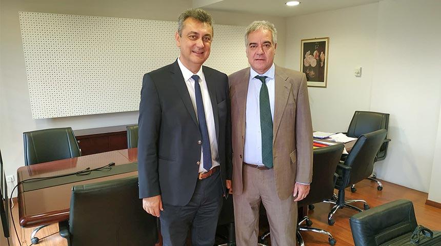 Συνάντηση του Γ. Κωτσού με το νέο Διοικητή της 5ης ΥΠΕ Θεσσαλίας & Στερεάς Ελλάδας κ. Φ. Σερέτη