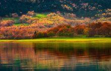 Φθινοπωρινό σκηνικό στη Λίμνη Πλαστήρα (φωτό)