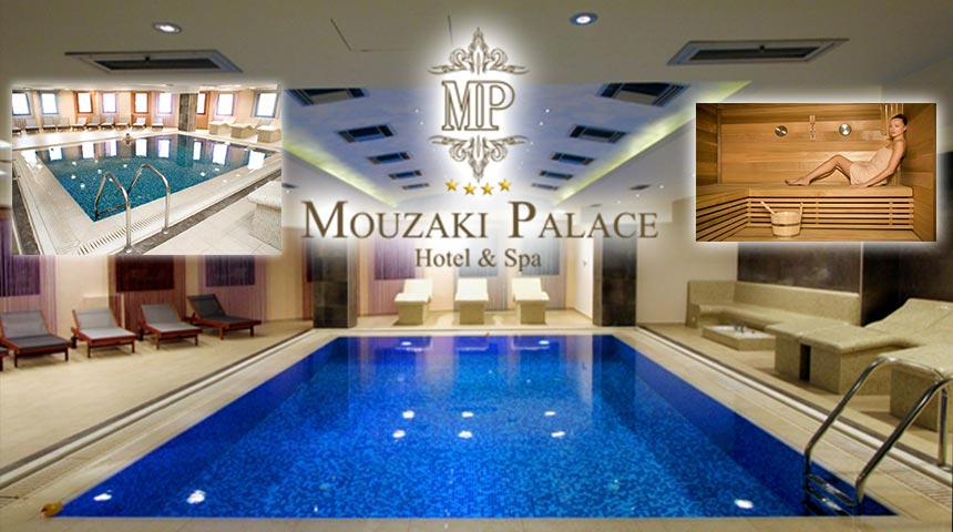 Aphrodite Spa at Mouzaki Palace!