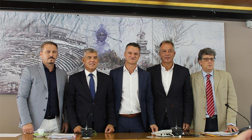 Το νέο Προεδρείο του Περιφερειακού Συμβουλίου Θεσσαλίας και τα νέα μέλη της Οικονομικής Επιτροπής