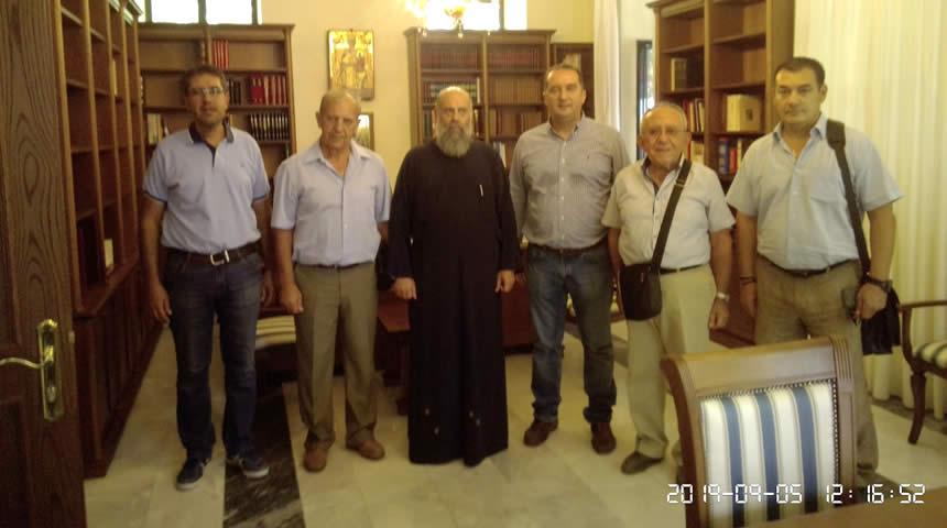 Επίσκεψη του ΣΕΑ Ν. Καρδίτσας στον Μητροπολίτη Θεσσαλιώτιδος και Φαναριοφερσάλων κ.κ Τιμόθεο