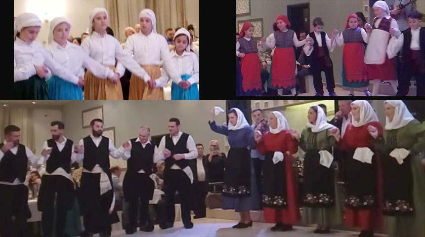Λαογραφικός, Αρχαιολογικός, Πολιτιστικός Σύλλογος Οξυάς: Λειτουργία χορευτικών τμημάτων του Συλλόγου