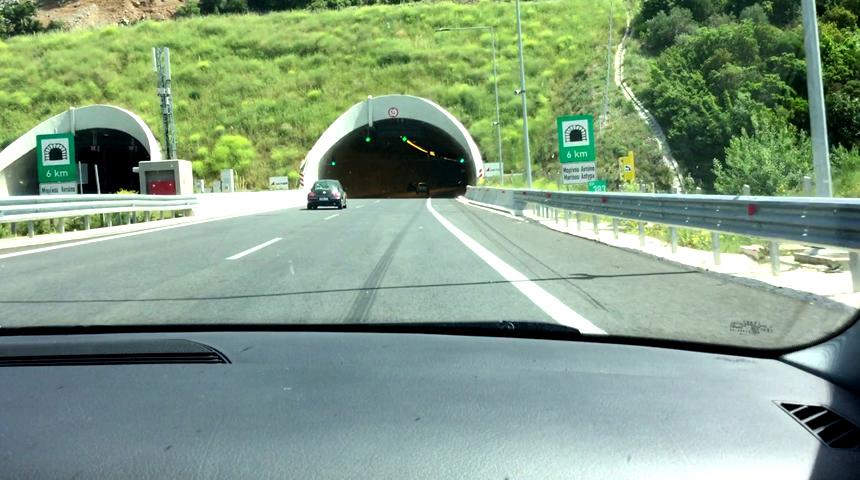 Προσωρινές κυκλοφοριακές ρυθμίσεις στις σήραγγες Τ1 & Τ2 του αυτοκινητοδρόμου Α.Θ.Ε.