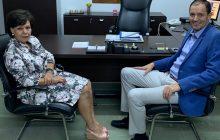 Επίσκεψη Ασημίνας Σκόνδρα στον νέο Αντιπεριφερειάρχη Καρδίτσας