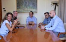 Επίσκεψη της διοίκησης του ΣΠΑΚ στο Δήμαρχο Καρδίτσας