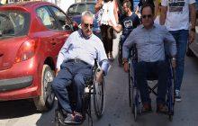 Την πραγματικότητα των ατόμων με αναπηρία βίωσε ο Δήμαρχος Καρδίτσας κ. Βασίλης Τσιάκος