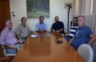 Με τη διοίκηση της Αναγέννησης συναντήθηκε ο Δήμαρχος κ. Βασίλης Τσιάκος