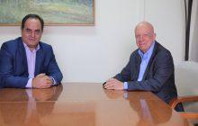 Τον Δήμαρχο Καρδίτσας επισκέφτηκε ο πρ. Υφυπουργός κ. Σπύρος Ταλιαδούρος