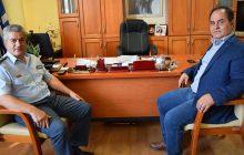 Εθιμοτυπική επίσκεψη του Αστυνομικού Δ/ντη στο Δήμαρχο Καρδίτσας