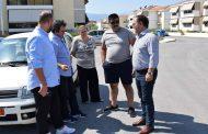 Το νέο οικισμό μετά το Νοσοκομείο επισκέφτηκε ο Δήμαρχος Καρδίτσας