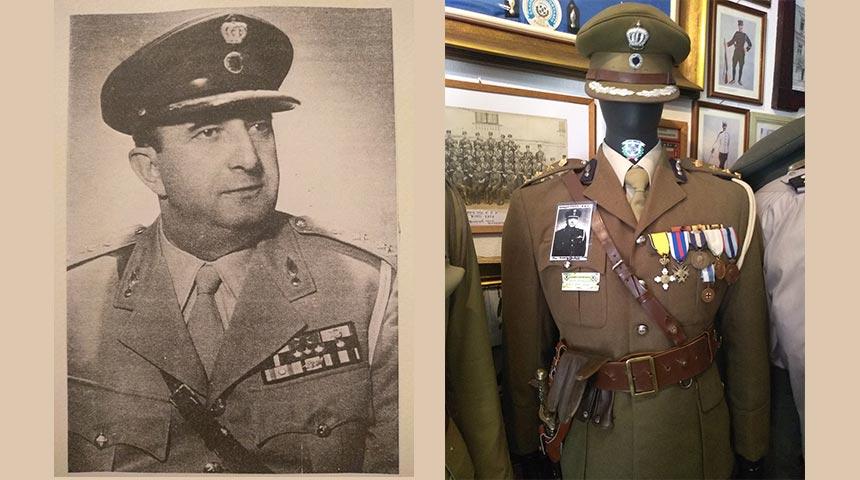 Νικόλαος Μουσχουντής (1906-1958) Συνταγματάρχης Χωροφυλακής-Διευθυντής Αστυνομίας Θεσσαλονίκης