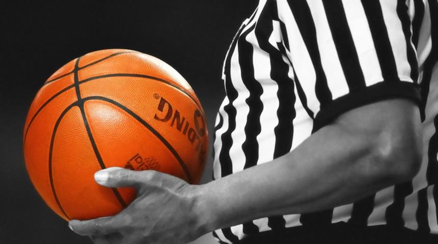 ΕΣΚΑΘ: Διαιτητές των αγώνων μπάσκετ 26/27 Οκτωβρίου
