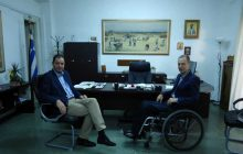 Συνάντηση του Αντιπεριφερειάρχη Καρδίτσας με τον Υποδιοικητή της 5ης ΥΠΕ κ. Σταύρο Παπαγεωργίου