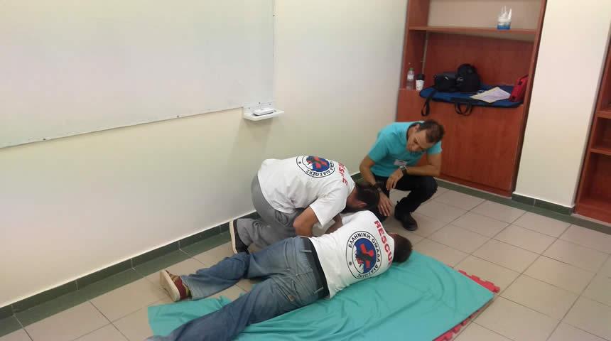 Συμμετοχή της Ελληνικής Ομάδας Διάσωσης Καρδίτσας σε σεμινάριο Α' Βοηθειών