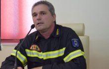 Ανάληψη καθηκόντων ως Διοικητής της Π.Υ. Μουζακίου από τον ΑντιπύραρχοΦούκα Στυλιανό