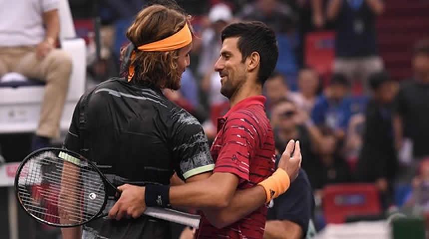 Υπόκλιση Novak Djokovic στον Stefanos Tsitsipas