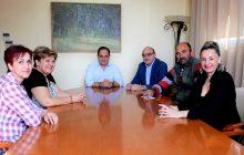 Επίσκεψη στελεχών του Κ.Υ. Μουζακίου στο Δήμαρχο Καρδίτσας