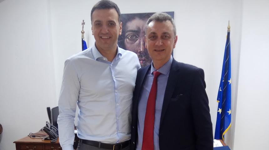 Συνάντηση του Βουλευτή Ν.Δ. Γ.Κωτσού με τον Υπουργό Υγείας Βασίλη Κικίλια