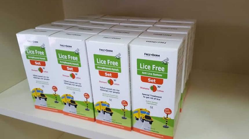 Δωρεά αντιφθειρικών προϊόντων στο Κοινωνικό Φαρμακείο του Δήμου