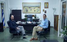 Επίσκεψη στον Αντιπεριφερειάρχη Καρδίτσας Κ. Νούσιο από τον Δήμαρχο Μουζακίου Φάνη Στάθη