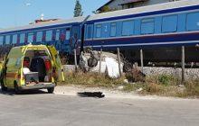 Τρίκαλα: Σύγκρουση τρένου με αυτοκίνητο -Πληροφορίες για μια νεκρή γυναίκα