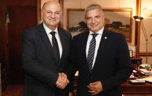 Ο Κώστας Τσιάρας συζήτησε με τον Γιώργο Πατούλη για τον θεσμό της Κοινωφελούς Εργασίας σε Δήμους και Περιφέρειες