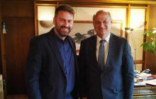 Συνάντηση Δημάρχου Αργιθέας με τον Υπουργό Κώστα Τσιάρα