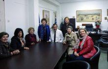 Επίσκεψη της «Γυναικείας Πρωτοβουλίας» στον Αντιπεριφερειάρχη κ. Κωστή Νούσιο