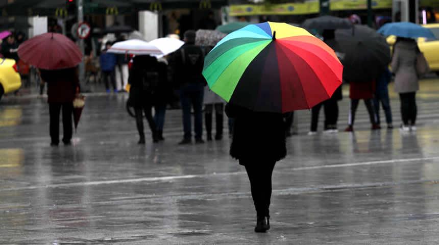 Καιρός: Πού αναμένονται βροχές και καταιγίδες την Παρασκευή