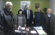 Στο Θεματικό Αντιπεριφερειάρχη κ. Νίκο Καραγιάννη το ΔΣ του ΚΑΠΗ Καρδίτσας
