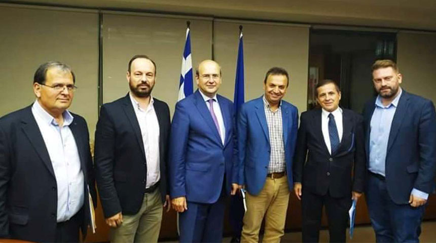 Συνάντηση Δημάρχων νομού Καρδίτσας και Ευρυτανίας με τον Υπουργό Περιβάλλοντος για τα αιολικά