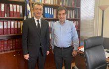 Συνεργασία Γ.Κωτσού με το Διοικητή του Ε.Φ.Κ.Α