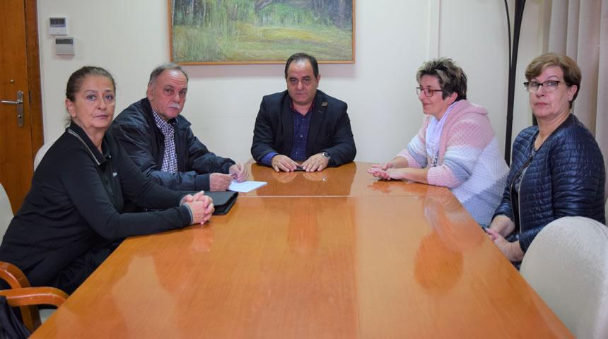 Συνάντηση Δημάρχου Καρδίτσας με το Δ.Σ. της Λαϊκής Βιβλιοθήκης «Αθηνά»
