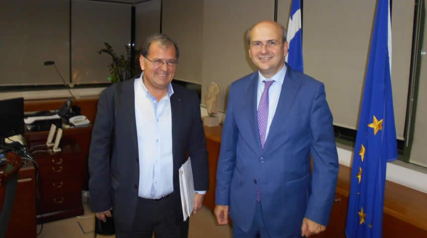 Επίσκεψη του Δημάρχου Π.Νάνου στα Υπουργεία για προώθηση έργων του Δήμου Λίμνης Πλαστήρα