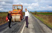 Σε εξέλιξη οι εργασίες συντήρησης και αποκατάστασης τμήματος του δρόμου Καρδιτσομάγουλα – Αγία Τριάδα
