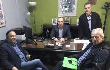 Συνάντηση του Συλλόγου Εργαζομένων ΟΤΑ με το θεματικό Αντιπεριφερειάρχη κ. Νίκο Καραγιάννη