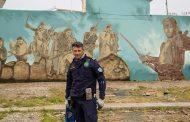 Τρικαλινός αξιωματικός του Λιμενικού κορυφαίος καλλιτέχνης των graffiti