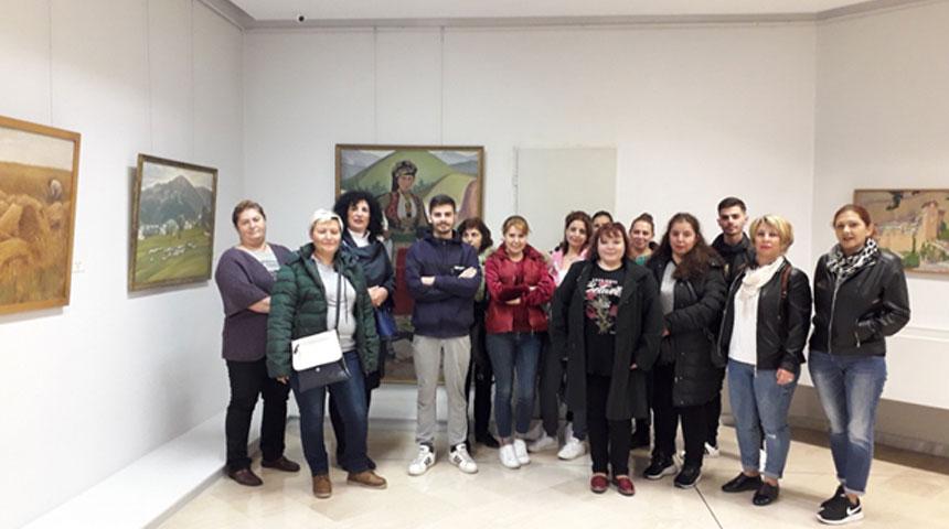 Επίσκεψη του Σχολείου Δεύτερης Ευκαιρίας Καρδίτσας στη Δημοτική Πινακοθήκη